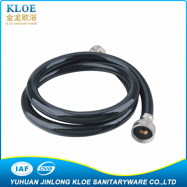 "3/8"" A variety of models KLOE Stainless Steel or pvc clear braided hose"