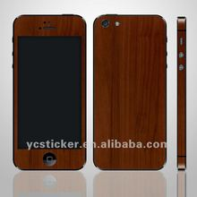 For iPhone5 Decal Wood Decal