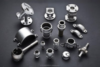 Stainless steel coupling, fitting, joint, machinery parts