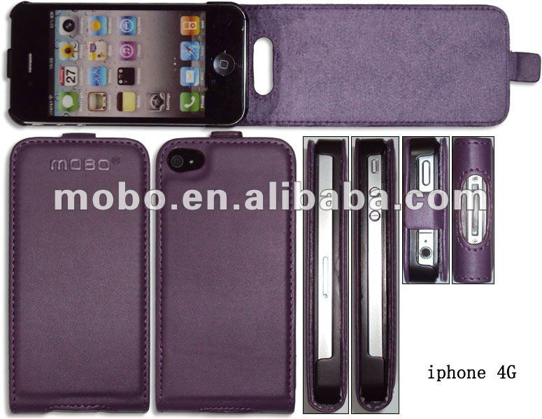 Case for iPhone 4 / 4S, Housing for iPhone 4 / 4S, leather case for iPhone 4