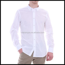 hot sale newest arrival fashion plain terry cotton shirt for men