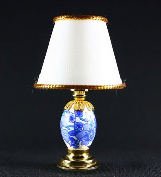 Dollhouse Lights, miniature table lamps