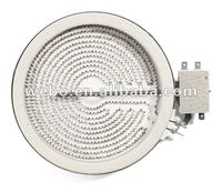 HL-T165R 165mm 1200W 220V Ceramic Heating element