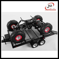 2015 New Products BigDog 1 8 Scale Dual Axle Scale 4 wheels RC Car/Truck Trailer hobby trailers For Sale