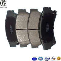 China Raliable Brand Auto Spare Parts Brake Pads 2015 good quality factory price auto parts atv brake pad Wholesale and retail