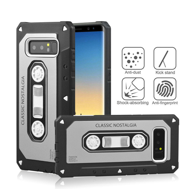 Cassette Shock Proof Mobile Phone Case Cover for Samsung Galaxy Note 8 , For Samsung Galaxy Note 8 Case