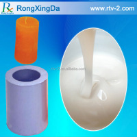 China good manufacturer liquid silicone with hardener for candle, soap