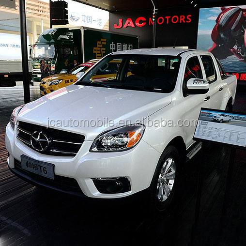 2017 Hot selling JAC 4WD double cab pickup with promotional price