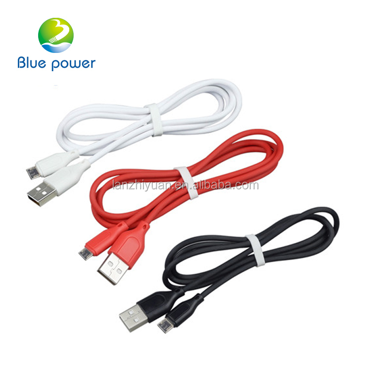 Factory price 2A 1M micro usb OEM cable, mobile phone accessories USB cable for iphone