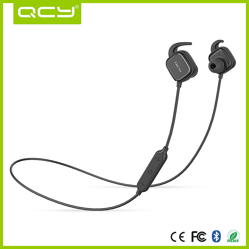 2016 QCY QY12 oem service bluetooth wireless in ear headphones