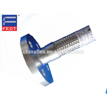 Corrugated Metal Hose With Flange Joint/Flange Joint Flexible Stainless Steel Hose
