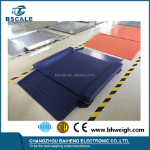 Checkered top plate mild steel 1t / 2t / 3t digital large platform weighing scale