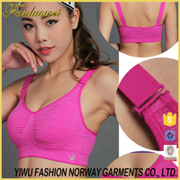 Plastic young girls sexy hot sexy xxxx sports seamless bra with great price
