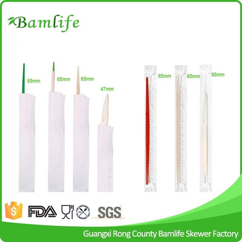 Food Grade dental white plastic toothpicks