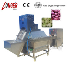 Full Automatic Onion Peeling Machine with Ends Cutting Function