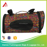 Wholesale low price high quality 600D polyester dog backpack / pet cage