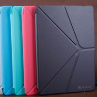 china manufacturer folio leather flip cover for ipad air