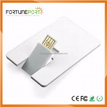 Custom design usb flash drive id card phone accessories mobile key usb memory stick 4gb 8gb 16gb 32gb with logo laser