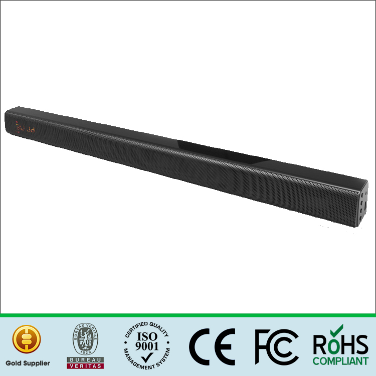 Multi-function Sound bar/Soundbar with 2.4GHZ wireless subwoofer for home theater music system