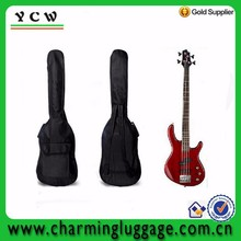 Wholesale double straps leather musical instrument electric guitar bag