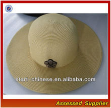 Wholesale straw hat for paper straw hat/straw hat for party