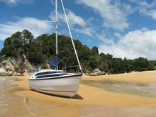 Classic 26ft sail boat for sale from hison factory