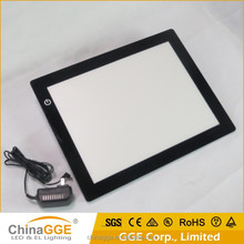 China Manufacture LED Ultra thin Light Drawing Writing Copy Board LED Light Tablet A3 Size