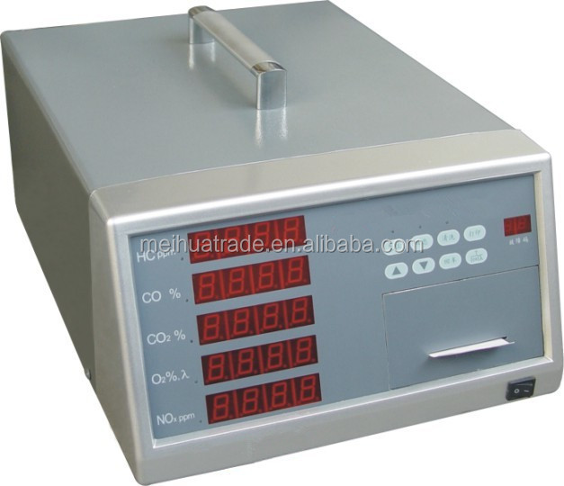Chinese Manufacturer Car Automobile Exhaust Gas Analyzer