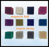 strong NdFeB magnetic ball desk toy, cheap toy neodymium ball magnets for sale