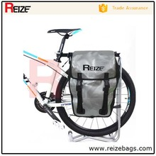 New product 500D PVC Tarpaulin Waterproof Motor Cycle Side Bag Bike Travel Bag