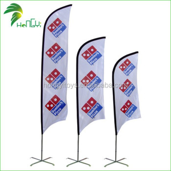 Customized Advertising And Promotional Wholesale Feather Banner Flag