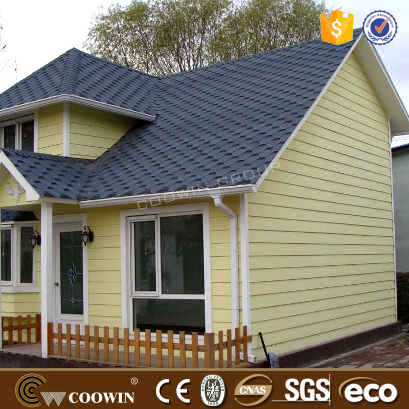 Prefabricated house exterior wall cladding panel buy for Cheap building materials for houses
