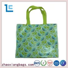 Zhaoxiang promotional folding custom pp textile shopping bag manufacturers