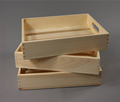 High quality unfinished pine wood serving tray for storage of kitchenwares, vegetables, fruits