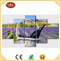 5 panel modern wall decorative art canvas printing pictures stretched canvas prints