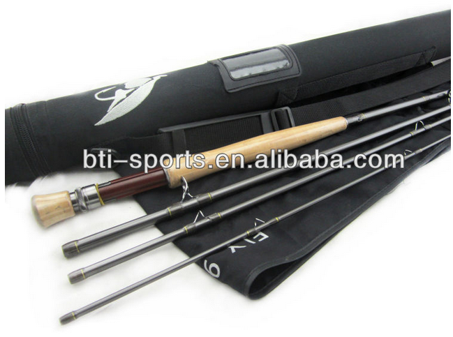 Fast action fly rod with economic fishing rod price buy for Fishing rod price