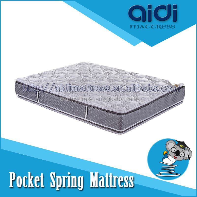 Luxurious Slumberland Pocket Spring Elegance Pillow Top Queen Foam Mattress AC-1218