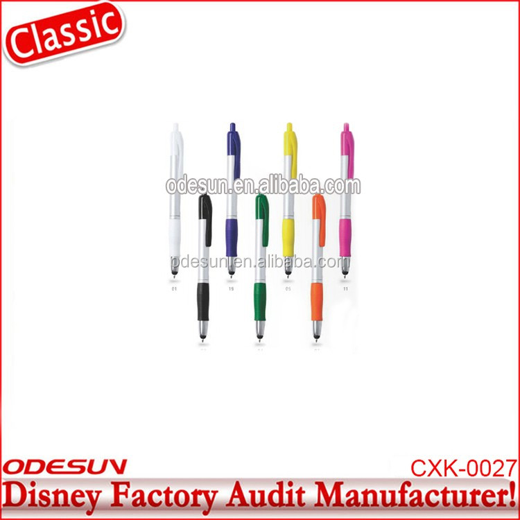 Disney Universal NBCU FAMA BSCI GSV Carrefour Factory Audit Manufacturer Good Quality Promotional Click Uni Ball Ink Pens