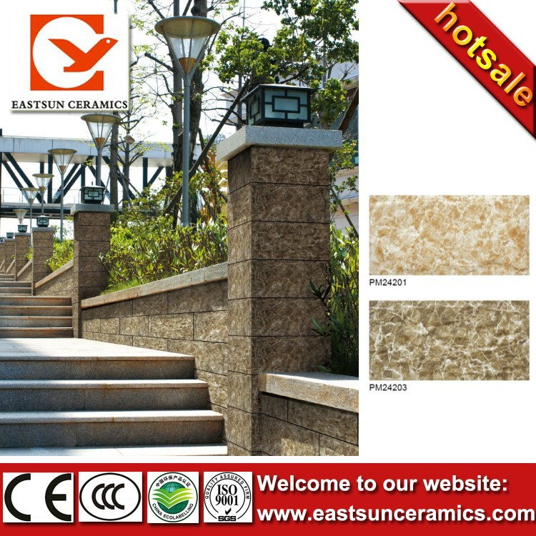 Exterior wall tile 20x40 building material culture stone for Exterior wall construction materials