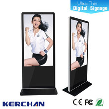 2016 hot 42 inch floor standing 15 Inch LCD Bus Advertising Player Back Fixing Structure