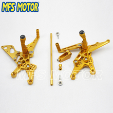 Motorcycle parts foot pegs brackets For YAMAHA 07 08 YZFR1 2007 2008 YZF R1