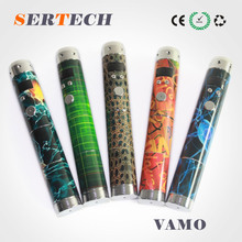 electronic cigarette,health e cigarette vamo v3 with 2pcs battery and rechargeble e cig