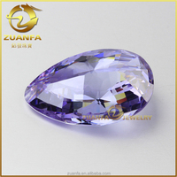 alibaba express violet raw precious stones for sale