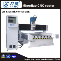 Libo CNC wood aluminum granite stone tombstone cnc carving machine for sale LB-1325