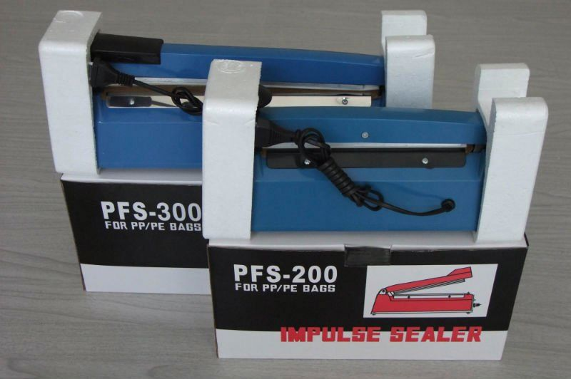 medical impulse sealer SF200 plastic body plastic hand sealing machine