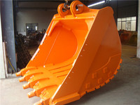 manufacturers machine Hitachi parts 2.2 m3 excavator spares parts of rock bucket