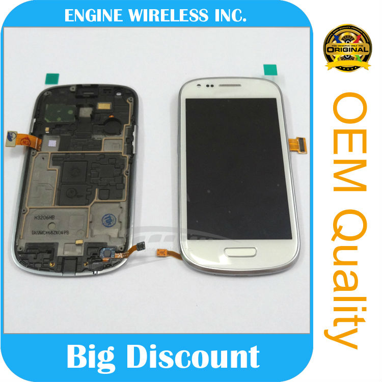 Cheap price spare parts for mobile for samsung galaxy s3 mini with digitizer