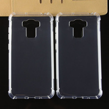 1.2mm thickness shockproof clear soft tpu mobile phone case for asus zenfone 3 max ZC553KL