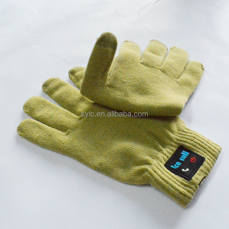 LingChen Touch Screen Bluetooth Talking Gloves for smart phones