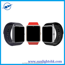 Waterproof 3G wifi gt08 wifi smart watch, android IOS smart watch phone with sim card slot